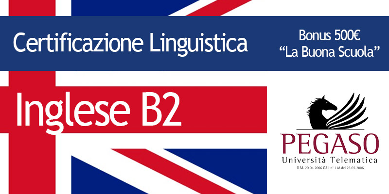 Calendario Esami Unipegaso.Elc English Lion Certification Livello B2 Pegaso